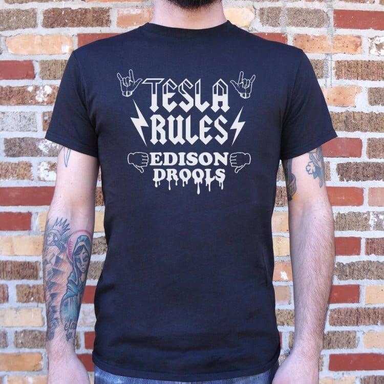 Tesla Rules Edison Drools