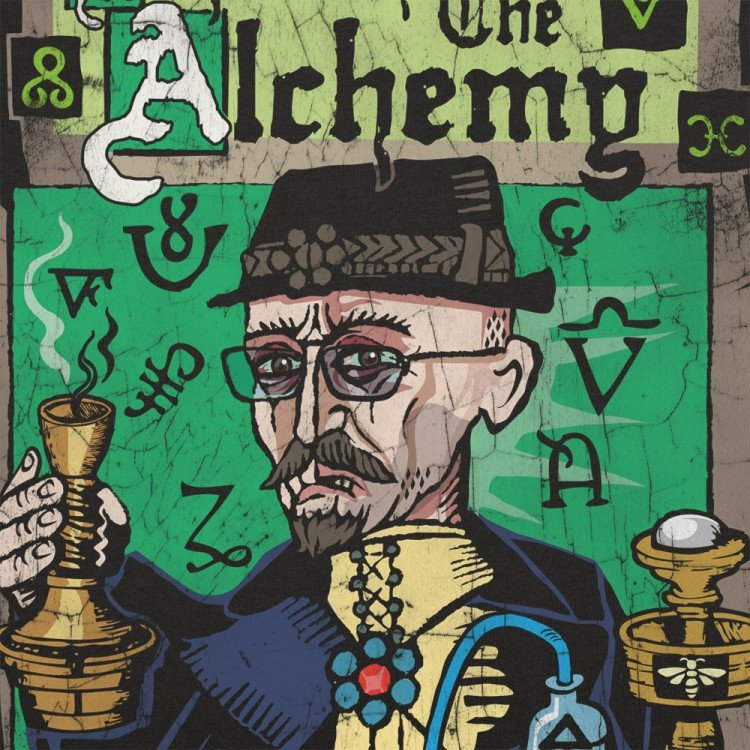 Respect The Alchemy Graphic