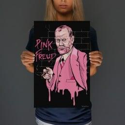 Pink Freud Print