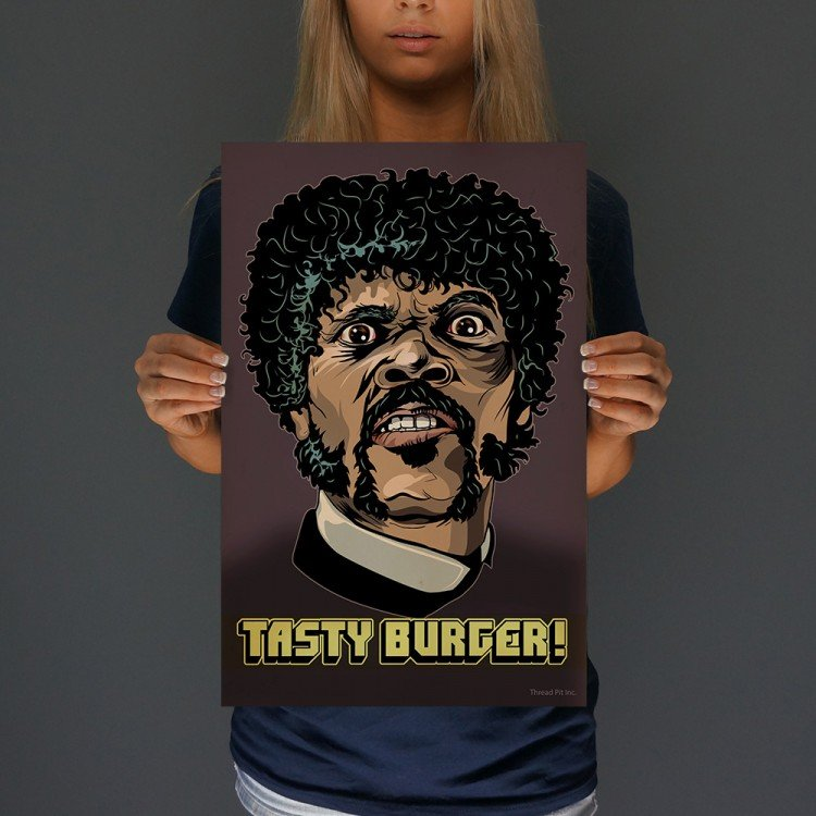 Tasty Burger Print