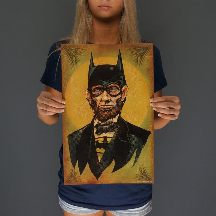 Caped Emancipator Print