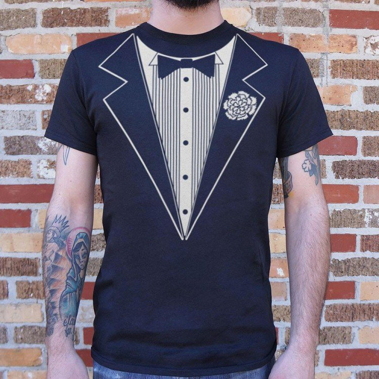 90c49077 Tuxedo T-Shirt | 6 Dollar Shirts