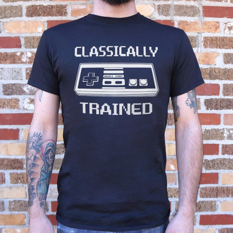 Funny Tees Toddler Classically Trained T-Shirt