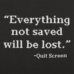 Quit Screen