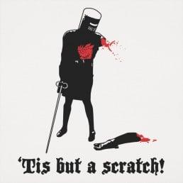 Tis But A Scratch!