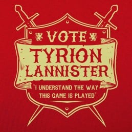 Vote Tyrion Lannister