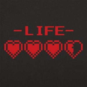 8-Bit Life Hearts