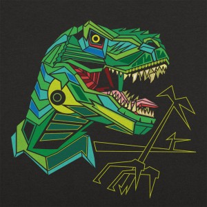 Polygon T.Rex Graphic