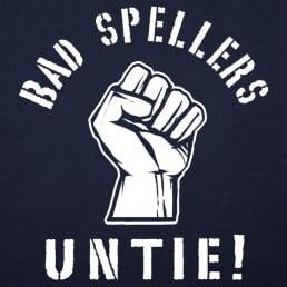 Bad Spellers Untie