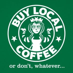 Buy Local Coffee