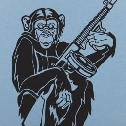 Chimp With A Gun