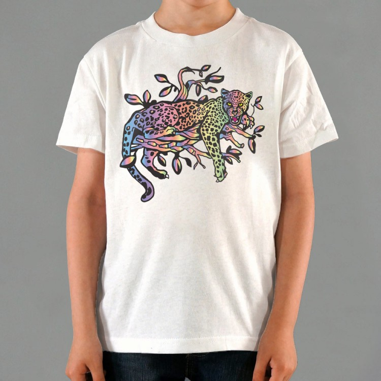Rainbow Leopard Graphic