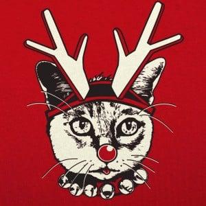 Feline Reindeer