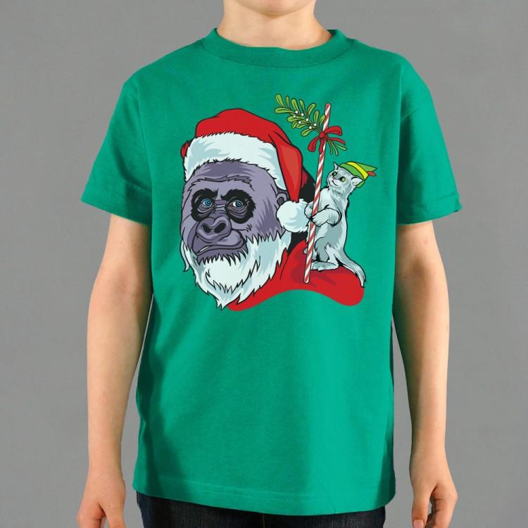 Harambe Santa Graphic