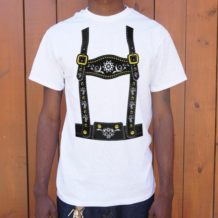 c846b75fc2dc Lederhosen T-Shirt | 6 Dollar Shirts