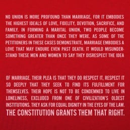 Marriage Equality Ruling