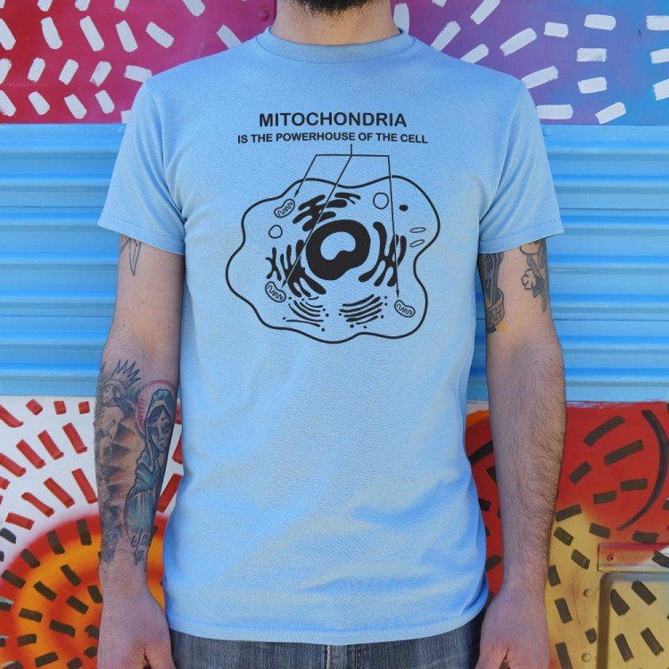 Mitochondria Is The Powerhouse Of The Cell T-Shirt   6 Dollar Shirts