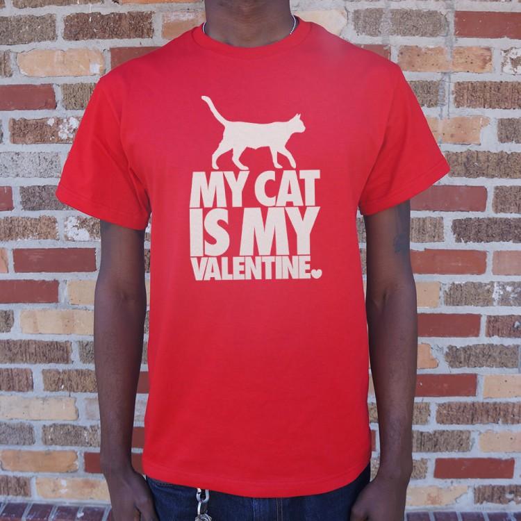 My Cat Is My Valentine T Shirt 6 Dollar Shirts