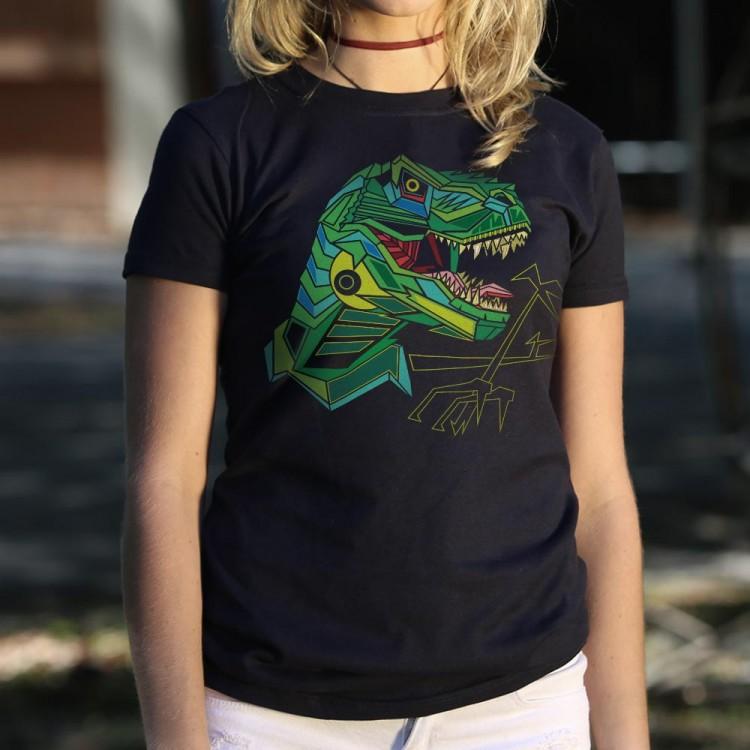 Polygon T.Rex Graphic