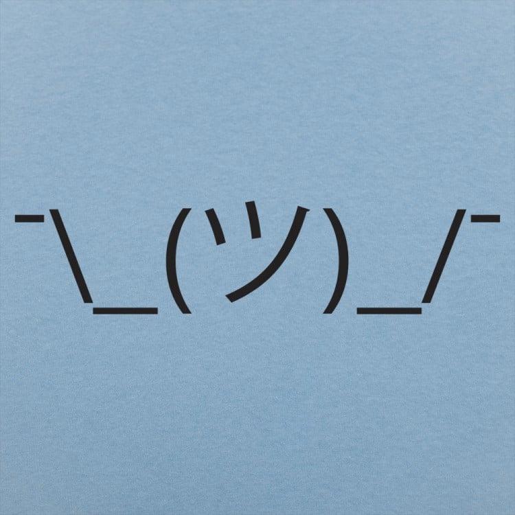 Shrugging Emoji