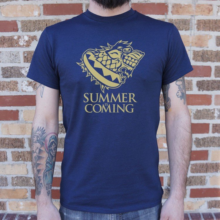 Summer Is Coming T-Shirt | 6 Dollar Shirts