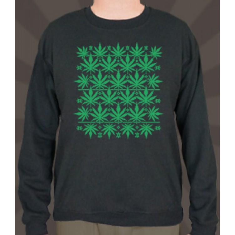 Sweet Leaf Ugly Sweater
