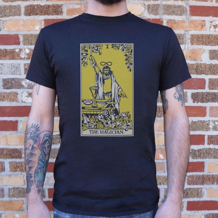8c3c66151fa717 Tarot Magician T-Shirt