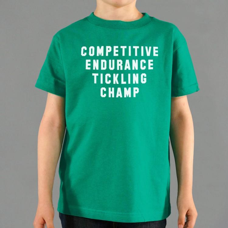 Tickling Champ