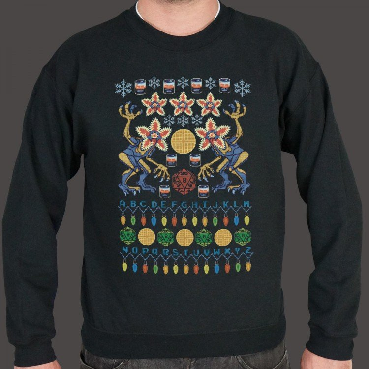 Upside Down Sweater Graphic