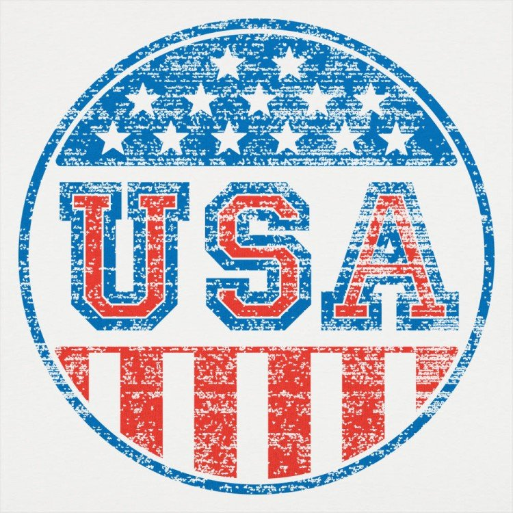 USA Button
