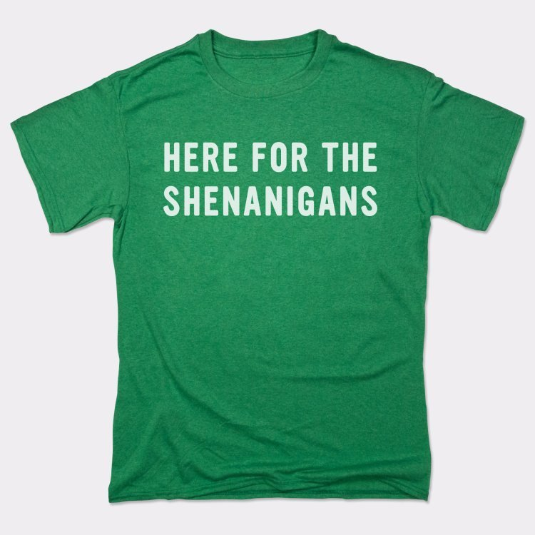 Here For Shenanigans