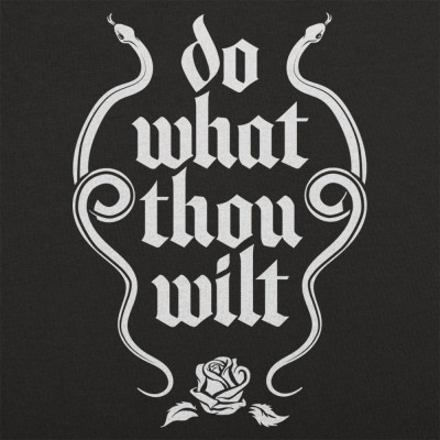 Do what thou wilt тату
