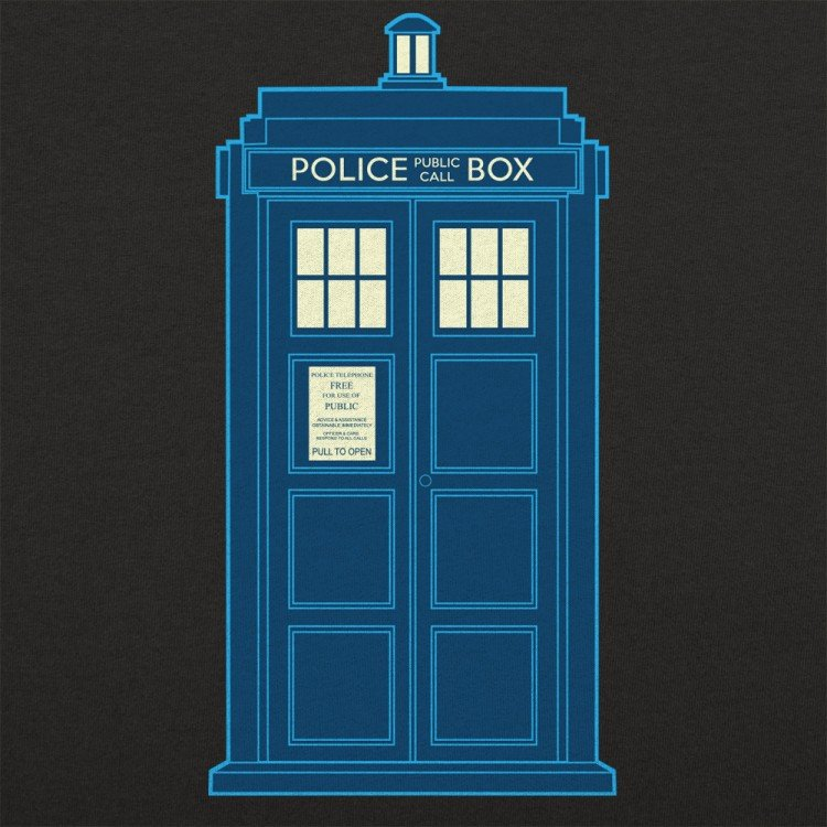 Police Box Graphic