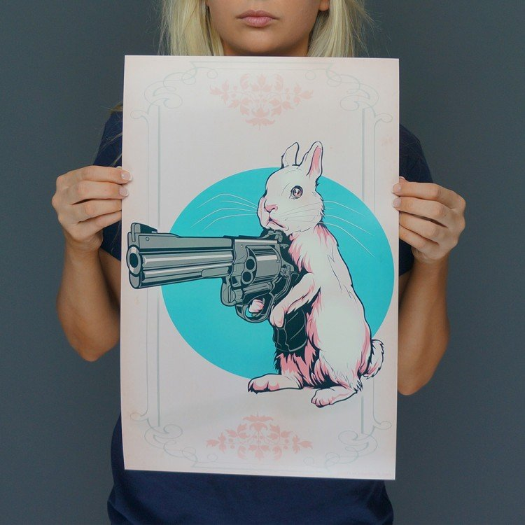Hare Trigger Print