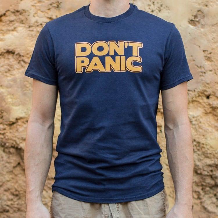 d48492de Don't Panic T-Shirt | 6 Dollar Shirts