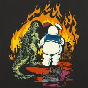A Puft Zilla Moment Graphic