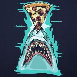 Pizza Shark Graphic