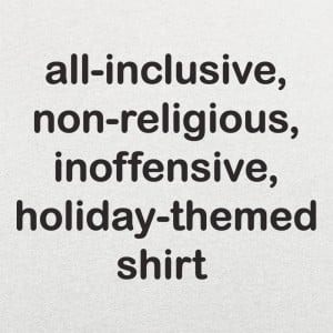 All-Inclusive Holiday Shirt