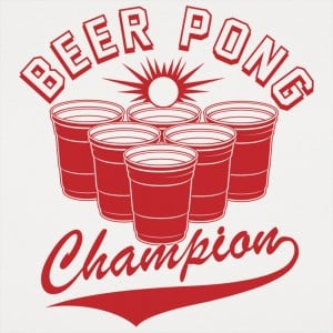 Beer Pong Champion