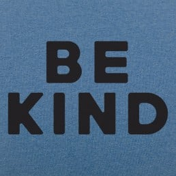 Be Kind Text