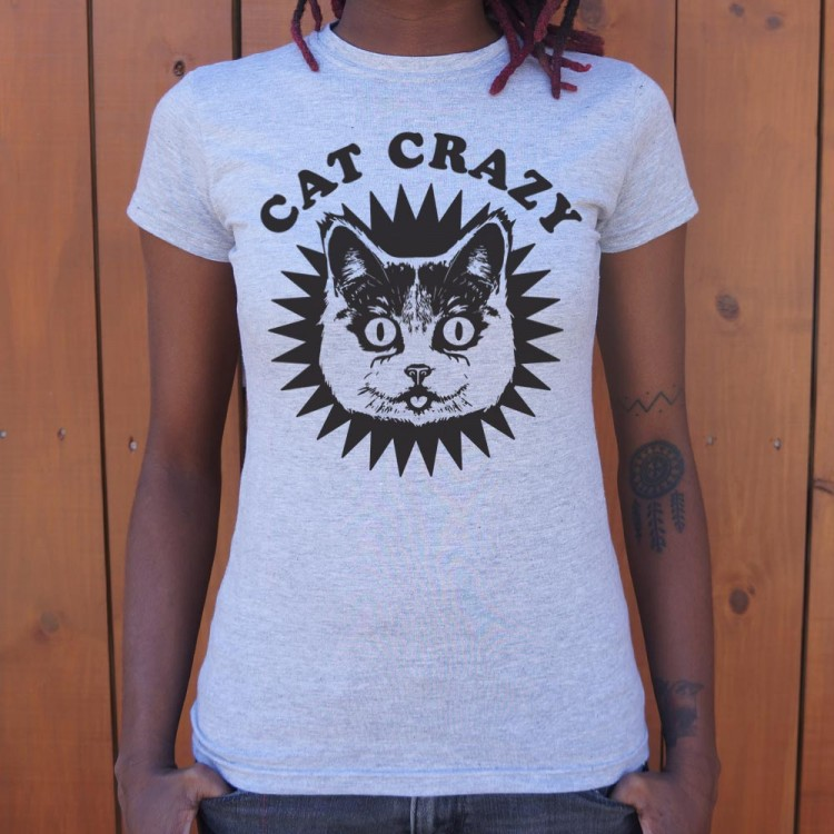 Cat crazy t shirt 6 dollar shirts for Crazy t shirt designs