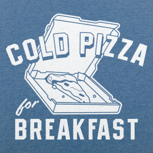 Cold Pizza For Breakfast