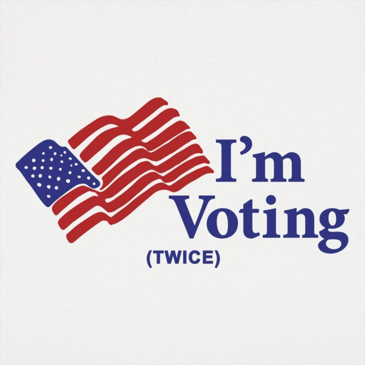 I'm Voting Twice