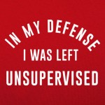 Left Unsupervised