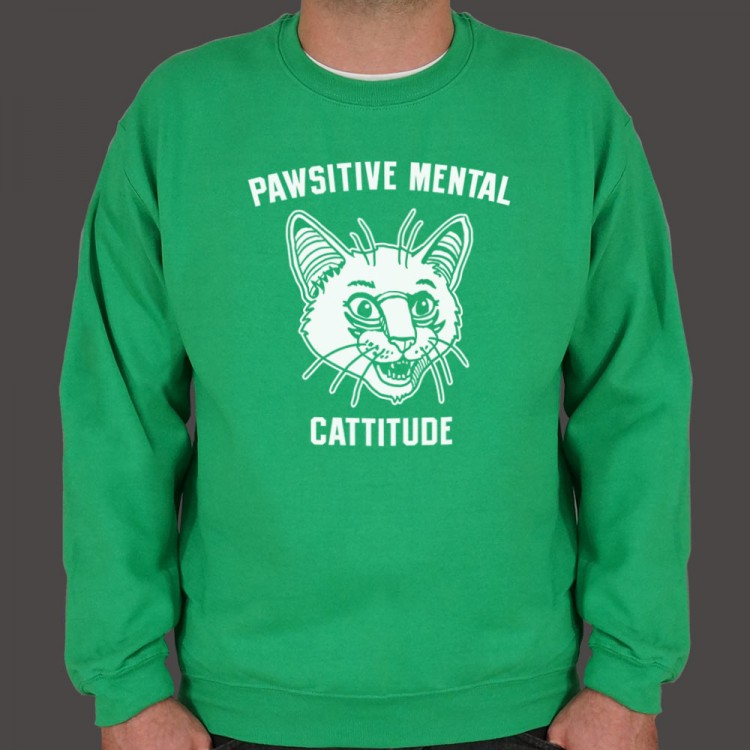Pawsitive Mental Cattitude