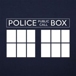 Police Box For Who