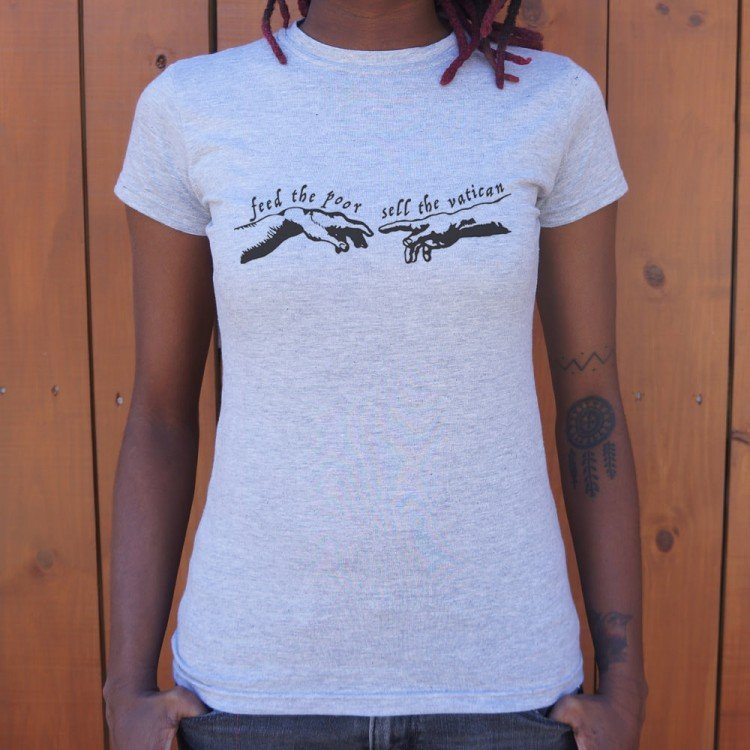 Sell the vatican t shirt 6 dollar shirts for Design and sell t shirts