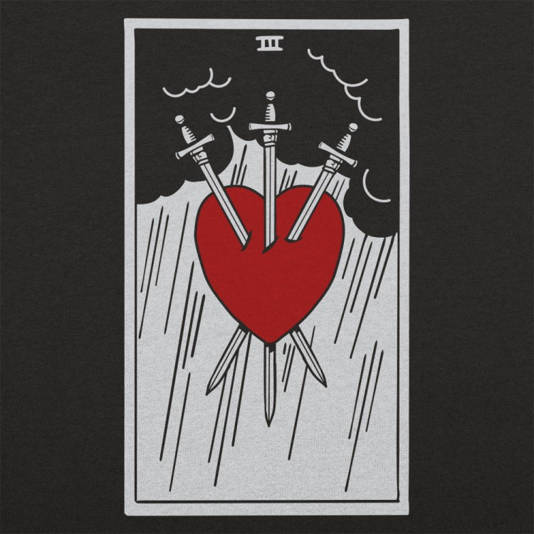 Tarot Three Of Swords