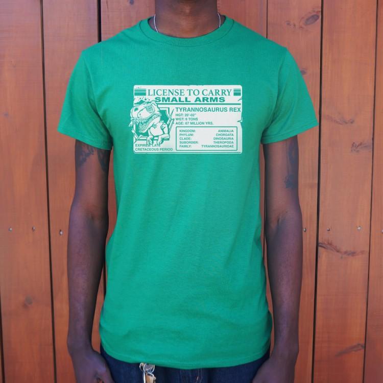 T rex license t shirt 6 dollar shirts for T shirt licensing agreement