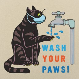 Wash Your Paws Graphic
